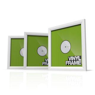 Glorious Vinyl Frame Set white -set of 3-