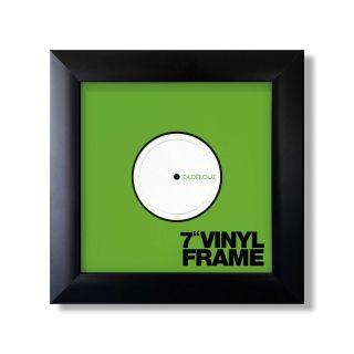 Glorious Vinyl Frame Set 7'' Black - Front View